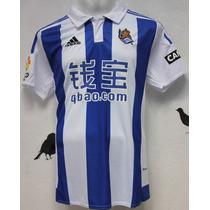 Jersey Real Sociedad 15-16 Talla S Carlos Vela