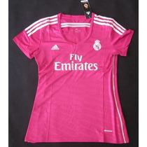 Real Madrid Adidas Mujer 2014-15 Original Talla S,m,l,xl
