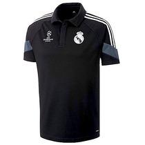 Camisa Polo Real Madrid Ucl 2015 No Clon! Envío Gratis!
