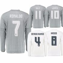 Playera Real Madrid # 7 Cristiano Ronaldo Niño Adulto Origin