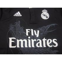 Jersey Real Madrid Adidas Visita Dragón 2015 Tallas S, M, L