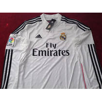 Real Madrid Jersey Manga Larga Adidas Original
