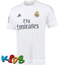 Jersey Adidas Real Madrid 100%original 15-16 No Clon *d Niño