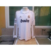 Jersey Real Madrid Original 2011-2012 Manga Larga