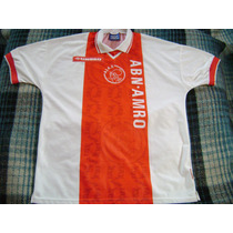 Jersey Ajax De Holanda Temp. 1998 Umbro Talla Extragrande