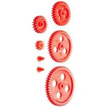 Ajax Científica 7 Piezas De Plástico Gear Y Bushing Set
