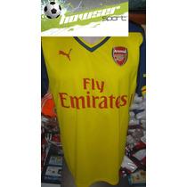 Jersey Puma 100% Original 2015 Arsenal De Inglaterra No Clon