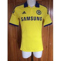 Jersey Chelsea Inglaterra Visita Amarillo 2014-2015 Adidas