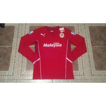 Jersey Cardiff City Puma Manga Larga / Medel 8