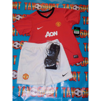 Kit (jersey, Short Y Calcetas ) Manchester United Local13-14