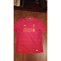 Jersey Liverpool New Balance 2016-17 Local Original C/num