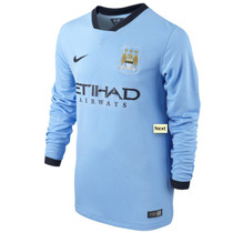 Jersey Nike Manchester City Local 2015 Original Manga Larga