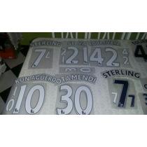 Numeracion Manchester City 2015/2016