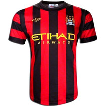 Jersey Manchester City 2012 Agüero Silva Tévez Dzeko Zabalet