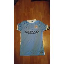 Jersey Nike Manchester City Local 2015-16 Original Jugador