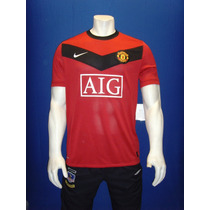 Playera Manchester United - 2009 / 2010