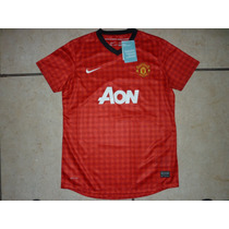 Jersey Nike Manchester United Inglaterra D Mujer 2013 Noclon