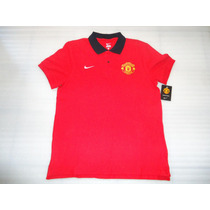 Remate Jersey Polo Nike Manchester United 2014 100% Original