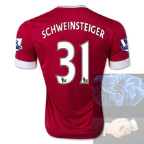 Jersey #31 Schweinsteiger Manchester United Rojo Adidas 16