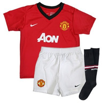 Kit Nike Manchester United 2013-2014 Local De Niño *oferta*