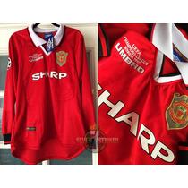 Manchester United 1999-00 Edición Umbro Rarisima Manga Larga