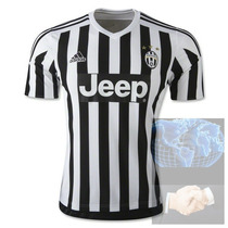 Jersey Juventus Local Blanca Negra Adidas 2016 Blanco Player