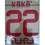 Ac Milan Estampado 2012-2014 Kaka El Shaarawy Balotelli