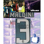 Estampado Ac Milan Local 08-09, #3 Maldini $199 Vinil