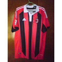 Jersey Adidas Ac Milán 2012 2013 Sin Publicidad