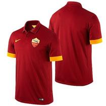 Jersey Nike Roma De Italia Calcio 100% Orignal No Clones