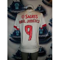 Jersey Oficial Original Benfica Portugal Raúl-9 Adidas 15-16