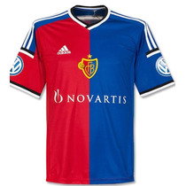Jersey Fc Basel Adidas Suiza 2014-15 Local Original