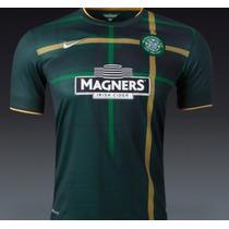 Jersey Nike Celtic Escocia Visita 3ra 14-15 C/num Original