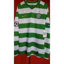Jersey Nike Celtic Champions Manga Larga De Utileria Code 7