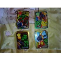 Tarjetas Marvel Marinela Coleccion Mexico Portero