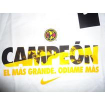 Jersey Playera Nike América Campeón 2014 100% Original Blanc