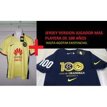 Jersey Club América Mas Playera 100 Años / Venta Especial