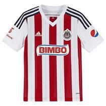Jersey Adidas Chivas Rayadas Guadalajara 2014-2015*de Niño*