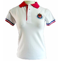 Playera Polo Chivas Dama