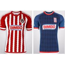 Jersey Chivas Guadalajara 2015-2016 Local Y Visitante