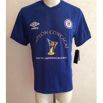 Jersey Cruz Azul Edición Campeón Concachampions 2014 Umbro