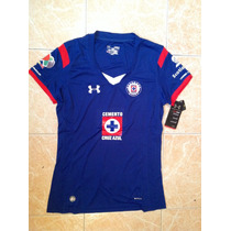 Cruz Azul Under Armour Mujer 2014-15 Talla S,m,l,xl Original