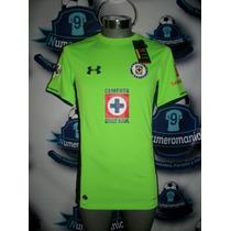 Jersey Oficial Cruz Azul Under Armour Gala Verde 2015