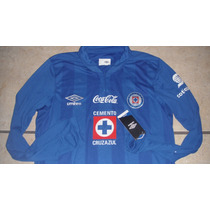 Jersey Umbro La Maquina De Cruz Azul Local Oferta Mangalarga