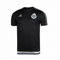 Playera De Entrenamiento Chivas Adidas Negra Adizero 2016