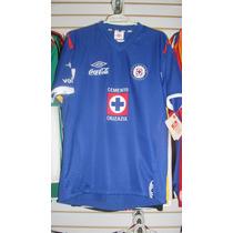Playera Umbro Del Cruz Azul Temporada 2011 Talla M
