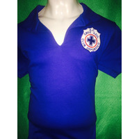 Playera Retro Del Cruz Azul