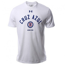 Cruz Azul Under Armour Playera Talla Mediana Color Blanco