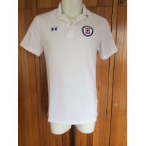 Playera Polo Cruz Azul Color Blanco Marca Under Armour 2015
