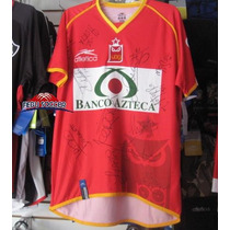 ºº Camiseta Visita De Los Tecos Atletica 2006 Firmada ºº